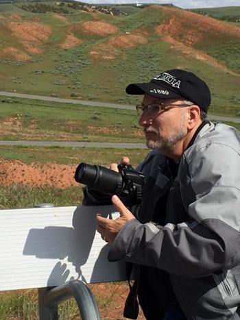 Richard-taking-photgraphs-wyoming